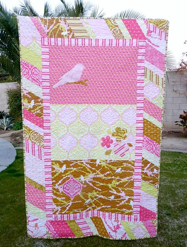 Aviary quilt finished!