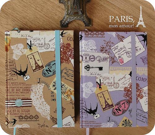 Agendas Paris, mon amour!