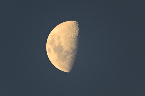 The Moon - 1000mm Test Shot