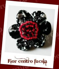 marcaFlor centro fucsia