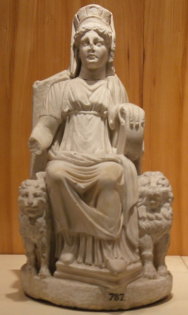 Statuette of Cybele, from Nicaea (Iznik), 2nd century AD, Hellenistic copy, Istanbul Archeology Museum