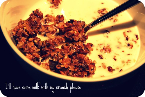 bowl of crunch