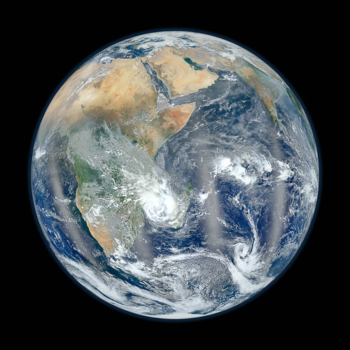 Eastern Hemisphere - Blue Marble 2012 by NASA Goddard Photo and Video