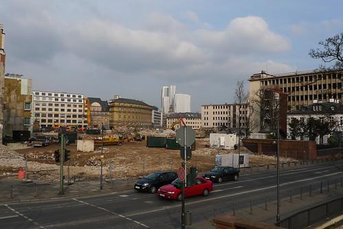 Abriss Degussa Gelände Januar 2012