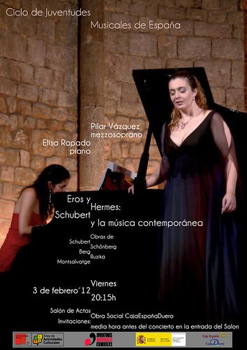 EROS Y HERMES: SCHUBERT Y LA MÚSICA CONTEMPORÁNEA - 03.02.2012 LEÓN by juanluisgx