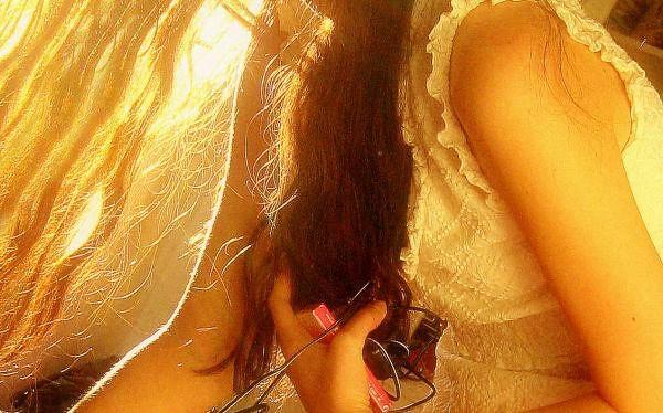 Sonne im Haar