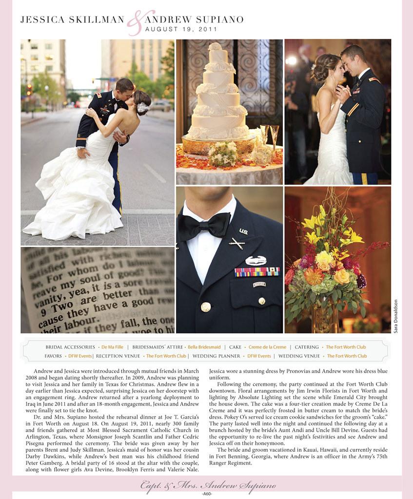 Real Weddings :: Bride's Of North Texas