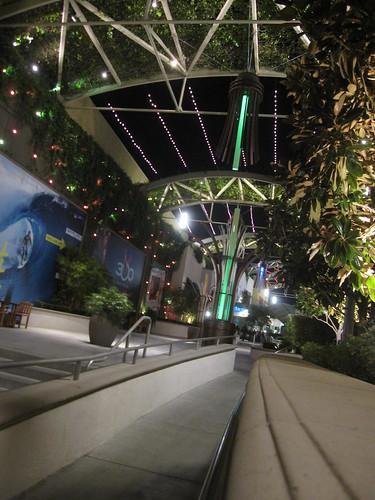 In Anaheim! Garden Walk! 3