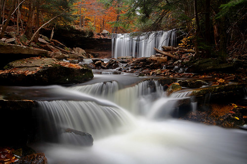 Ricketts Glen: Oneida Falls (redux)