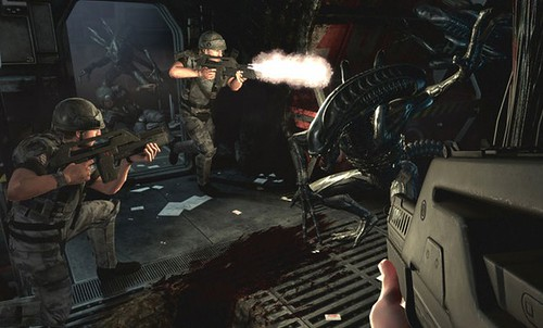 Aliens: Colonial Marines' Latest Trailer is Face-Huggingly Awesome