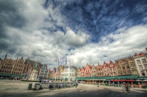 Brugges. Grote Markt. Brujas