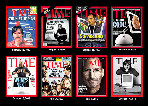 Steve Jobs: His Moments In TIME