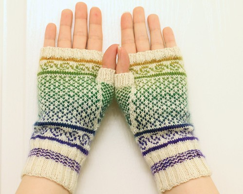 Colorwork Gloves