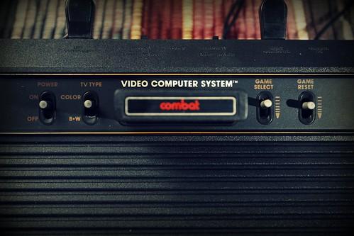 Atari 2600 'Combat' Game Cartridge