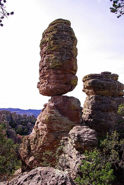 Pinnacle Rock Heart Of Rocks Trail Chiricahua National