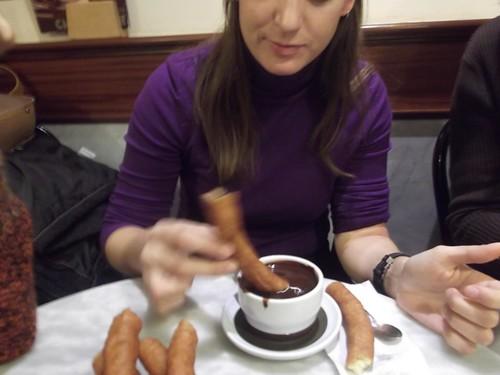 Zaragoza | Chocolatería Valor | Chocolate con churros
