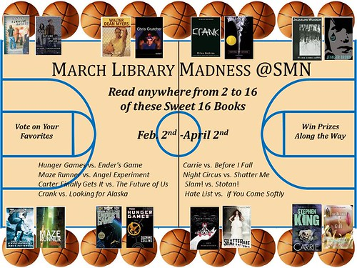 March Library Madness @Shawnee Mission North