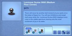 Luminous 9000 (medium Floor Corner)