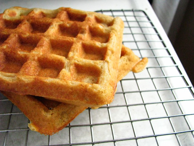 sprouted waffle.