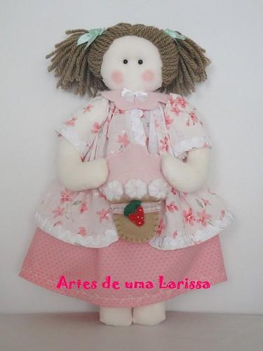Boneca by Artes de uma Larissa