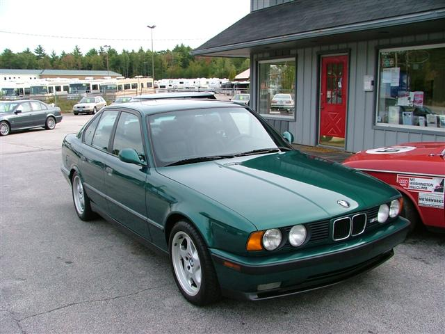 E34 Fs 1993 M5 Lagoon Green Black