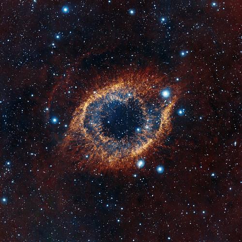 VISTA's look at the Helix Nebula