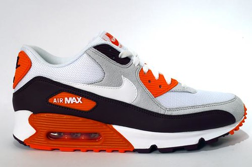 Nike Air Max 90 Red Mahogany Orange 325018-605