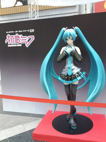 KEI-san's miku exhibit