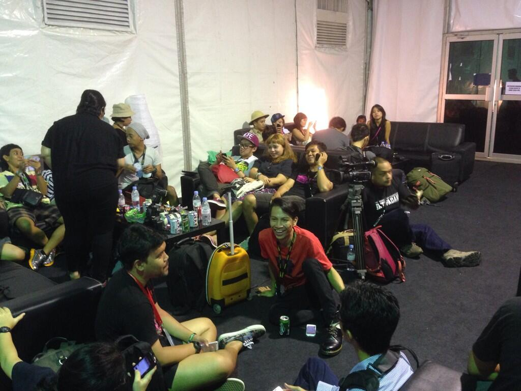 Pengunjung Protes Pembatalan Future Music Festival Asia 2014