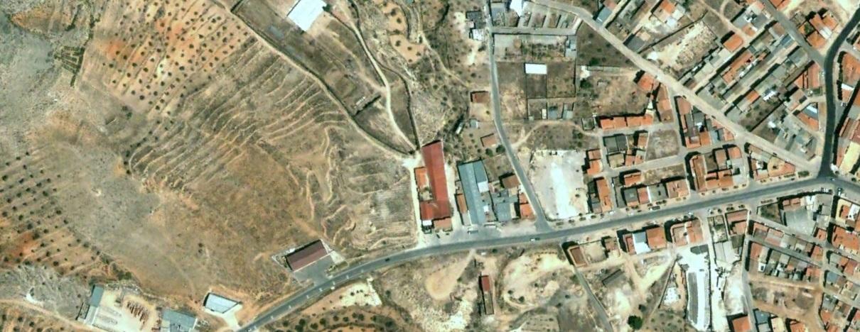 antes, urbanismo, foto aérea, desastre, urbanístico, planeamiento, urbano, construcción,Elche de la Sierra, Albacete