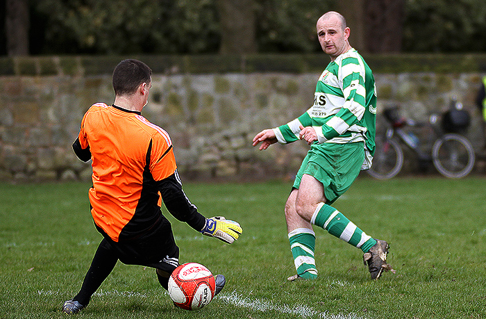 Ian McGraa Goal