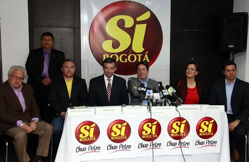 RUEDA DE PRENSA DEL MOVIMIENTO CENTRO DEMOCRÁTICO EN BOGOTÁ (1)