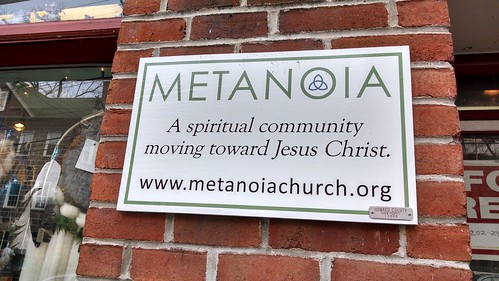 Metanoia Church Sign