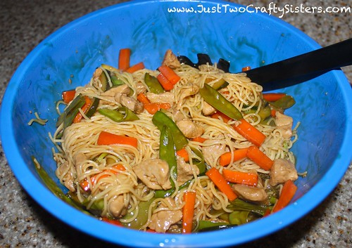 Easy pork lo mein recipe