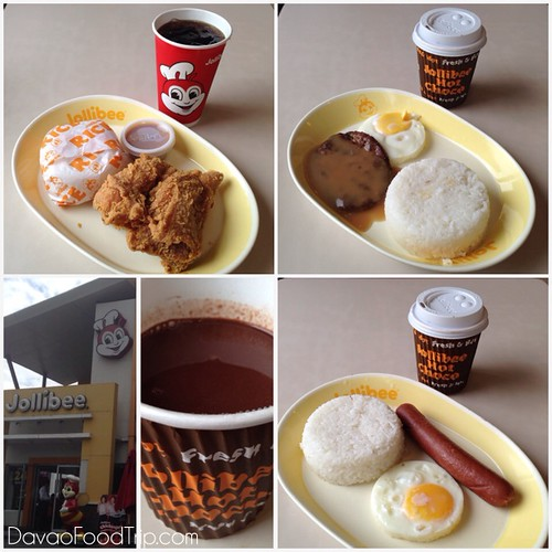 The Little Boy Had A One Piece Jollibee Chicken Joy He Didnt Drink Softdrink Hubby Chose Their Breakfast Joys Steak With Hot Choco And I