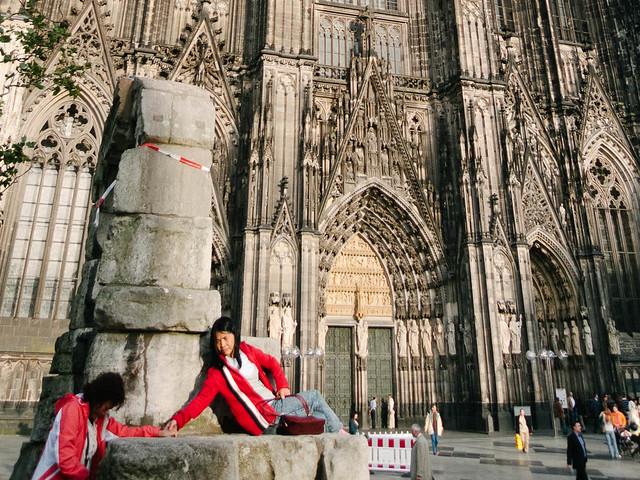 Ante la catedral de Colonia