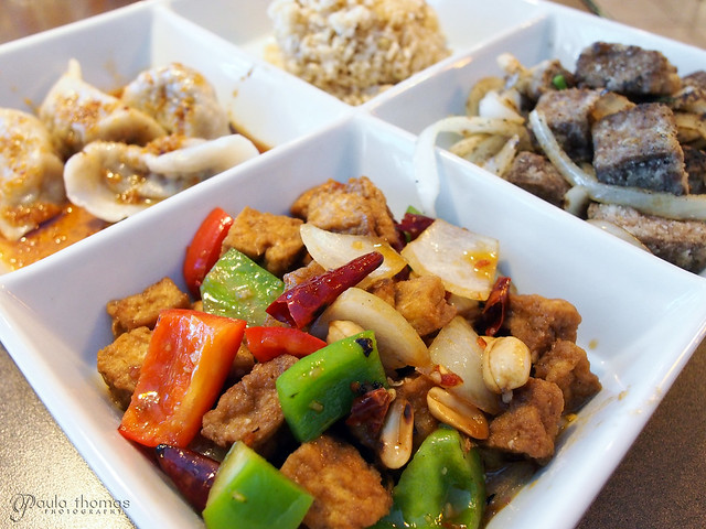 Goji Cafe - Vegan Asian Sampler