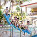 ElizT. posted a photo:	...friends sliding @ ESL Resort.