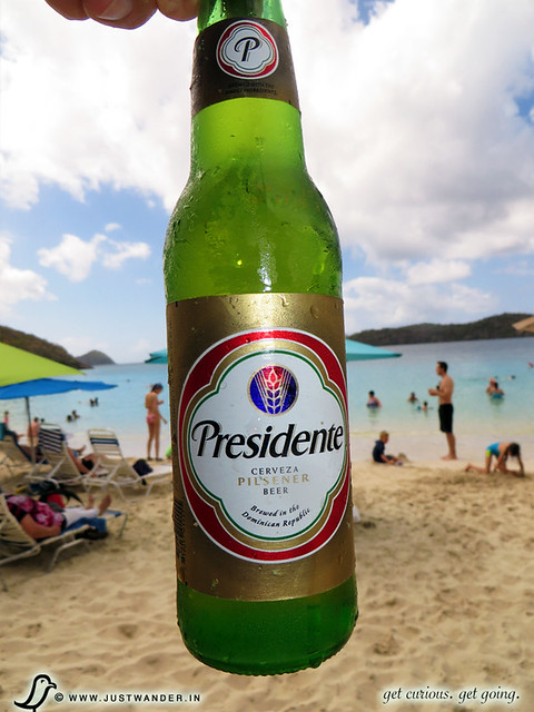 PIC: Beer of St. Thomas - Presidente