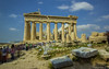 The famous Parthenon