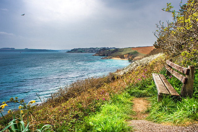 S W coast path, Saint Anthony, Cornwall, United Kingdom
