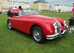 automobile, jaguar xk120, jaguar xk140, vehicle, jaguar xk150, antique car, classic car, vintage car, land vehicle, luxury vehicle, sports car,