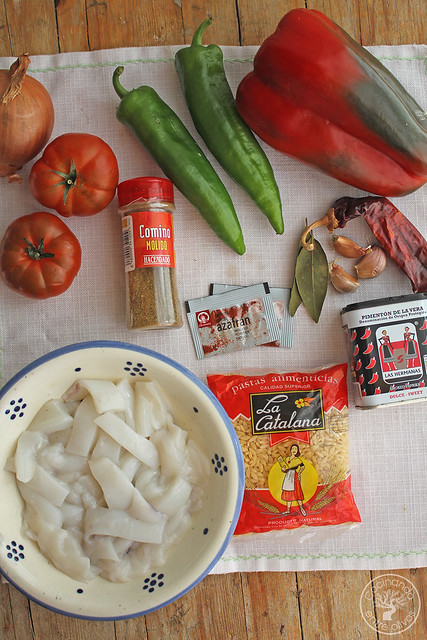 Gurullos con jibia www.cocinandoentreolivos.com (3)