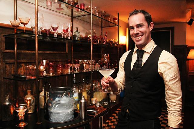 Bartender Jason Winter by Caroline on Crack