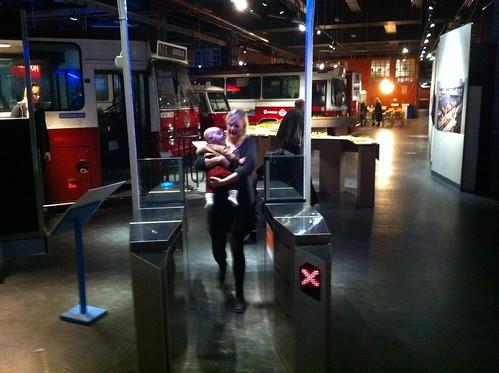 Spärrar hör hemma på museum