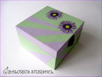 Caja Decoupaje Lila&Verde blog