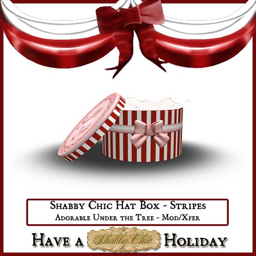 Shabby Chic Hat Box Stripes by Shabby Chics