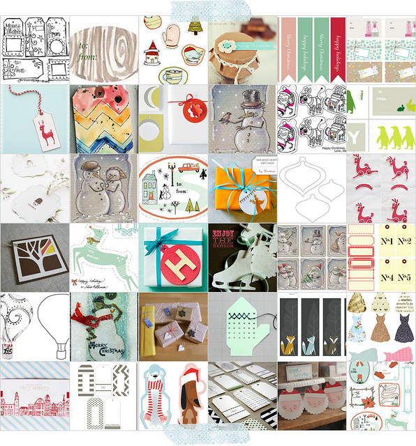 Over100 tags collage