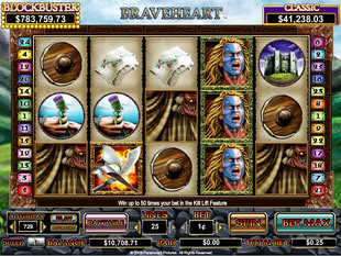 Braveheart slot game online review