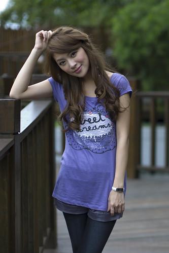 無料写真素材, 人物, 女性  アジア, Tシャツ, 台湾人